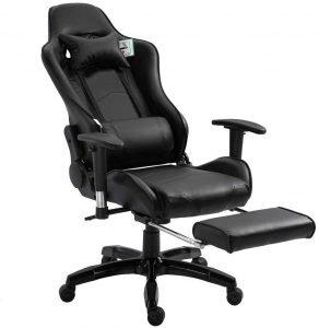 Gaming-Stühle mit Fußstütze